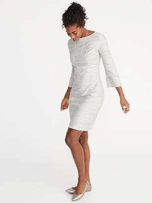 Old Navy Textured Marled Sheath Dress for Women
