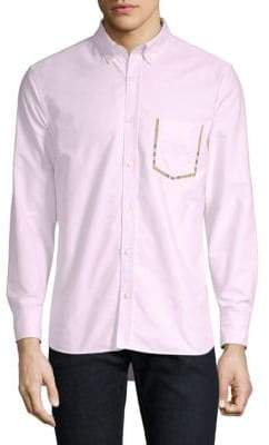 Burberry Harry Cotton Button-Down Shirt