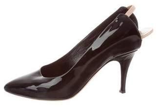 e7d4f8440b9 Marc Jacobs Patent Leather Pumps - ShopStyle
