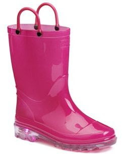 Western Chief Girls' Light-Up Rain Boots $35.99 thestylecure.com