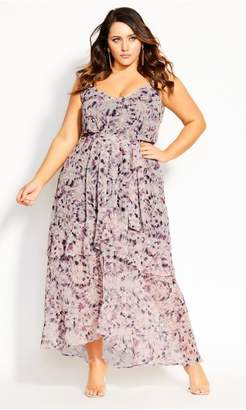 City Chic Citychic Desert Haze Maxi Dress - shell