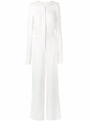 Stella McCartney tailored long-sleeved jumpsuit