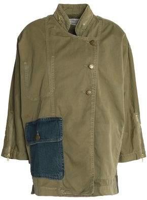 Current/Elliott Cotton-Gabardine Jacket