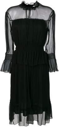 See by Chloe long sleeved chiffon dress