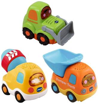 Vtech Toot Toot Drivers 3 Car Pack Construction Vehicles