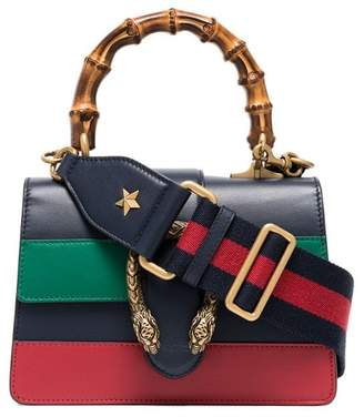 44426672e37 Gucci blue green and red Dionysus Mini Top Handle Bag