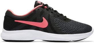 Nike Revolution 4 Girls Running Shoes - Big Kids