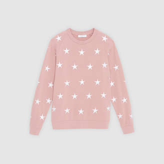 Sandro Unisex sweatshirt with embroidered stars