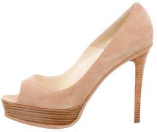 Brian AtwoodBrian Atwood Suede Platform Pumps w/ Tags