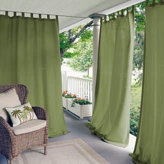 Matine Elrene Tab-Top Indoor/Outdoor Curtain Panel
