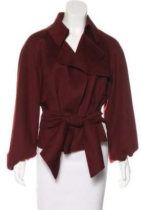 Hermes Cashmere Belted Jacket