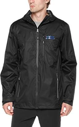 Outdoor Ventures Men Lake Packable Breathable Rain Jacket