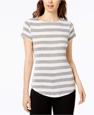 Bar III Striped T-Shirt