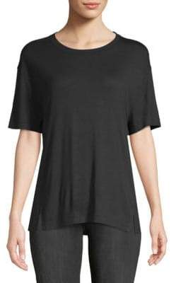 Vince Drapey Short-Sleeve Top