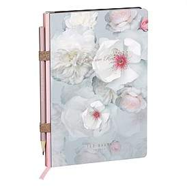 Ted Baker Chelsea Border A5 Notebook & Pencil