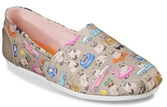 Skechers BOBS Plush Vacay Grumpy Cat Slip-On