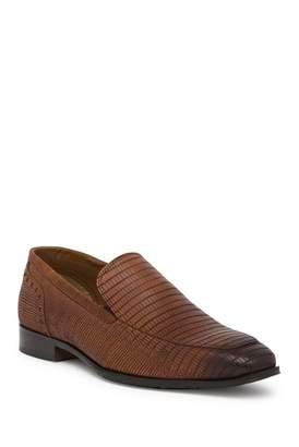 Giorgio Brutini Emerson Reptile Embossed Leather Slip-On Loafer