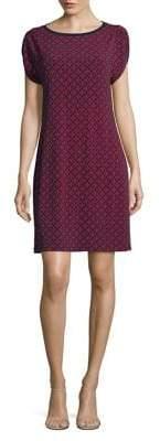 MICHAEL Michael Kors Classic Geometric-Print Dress