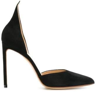 Francesco Russo pointed toe stiletto pumps