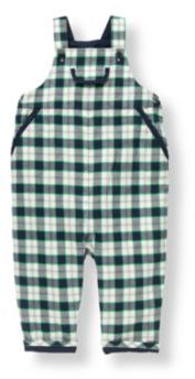 Janie and Jack Plaid Overall
