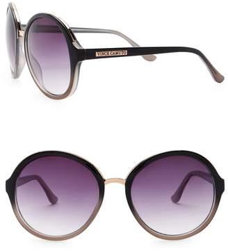Vince Camuto 59mm Round Bridge Sunglasses