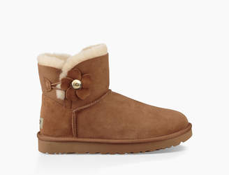 UGG Women's Mini Bailey Button Poppy Boot