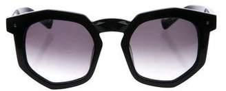 Grey Ant Round Gradient Sunglasses