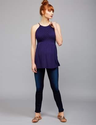 AG Jeans Pea Collection Secret Fit Belly Stilt Cigarette Maternity Jeans