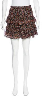 Rebecca Minkoff Printed Mini Skirt