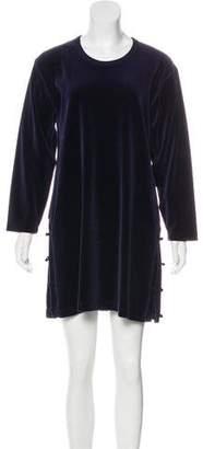 Sonia Rykiel Velvet Mini Dress