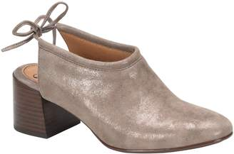 Sofft Suede Slingback Booties - Lenora