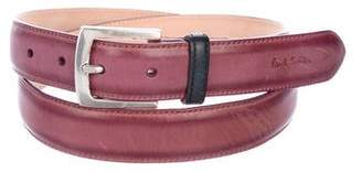 Paul Smith Leather Buckle Belt