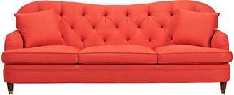 Kate Spade Drake Tufted Sofa - Red