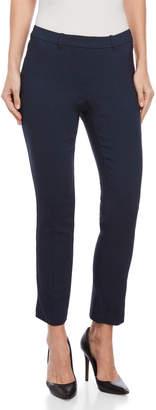 Rafaella Carbon Blue Skinny Ankle Pants
