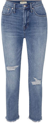 Madewell The Perfect Vintage High-rise Straight-leg Jeans - Mid denim