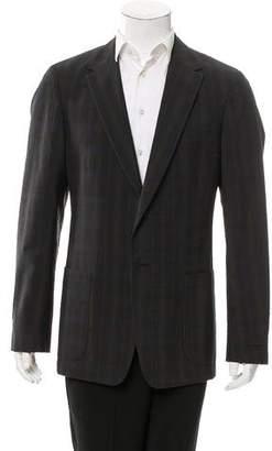 Prada Two-Button Virgin Wool Blazer