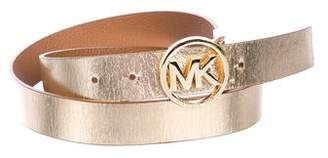 MICHAEL Michael Kors Reversible Leather Belt