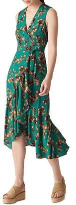 Whistles Capri-Print Wrap Dress