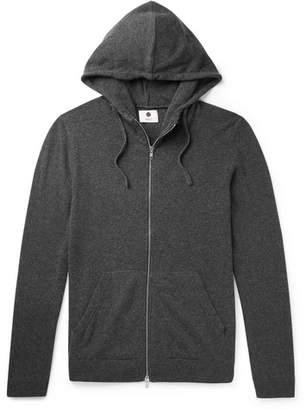 NN07 Wool-Blend Zip-Up Hoodie