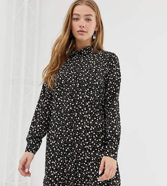 Daisy Street oversized shirt dress in ditsy floral