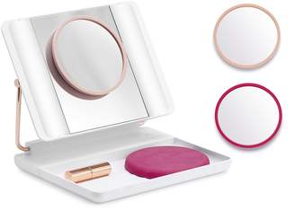 JUST OWN IT JOI JOI Spotlite HD Diamond Makeup Mirror in French Tip