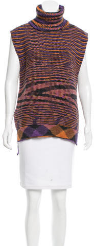 Missoni M Missoni Merino Wool Turtleneck Sweater