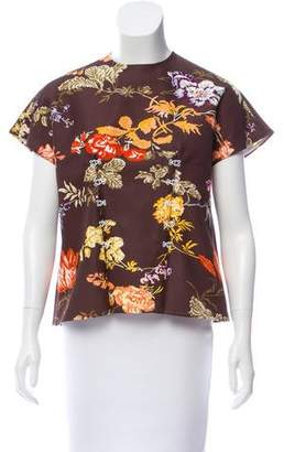 Rosie Assoulin H&E Floral Top w/ Tags