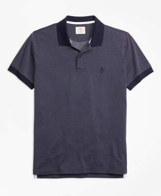 Brooks Brothers Bird's-Eye-Knit Cotton Polo Shirt