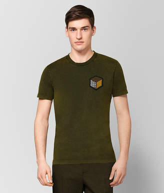 Bottega Veneta MUSTARD COTTON T-SHIRT