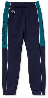 Lacoste Boys' Color-Block Logo Jogger Pants - Little Kid, Big Kid