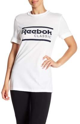 Reebok Short Sleeve Logo Print Tee
