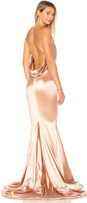 Gemeli Power Satin Barthelemy Gown