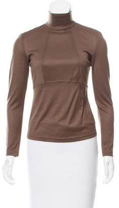 Ralph Rucci Cashmere Long Sleeve Top