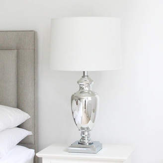 Marquis & Dawe Large Silver Table Lamp